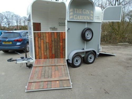 Photo of this horsebox conversion